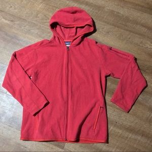 Patagonia zip up fleece coat